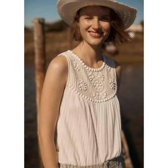 Anthropologie Tops - Anthropologie Bristol beaded top new with tags